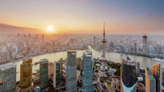 Shanghai Sunset