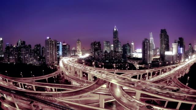 shanghai - asphalt stock-videos und b-roll-filmmaterial