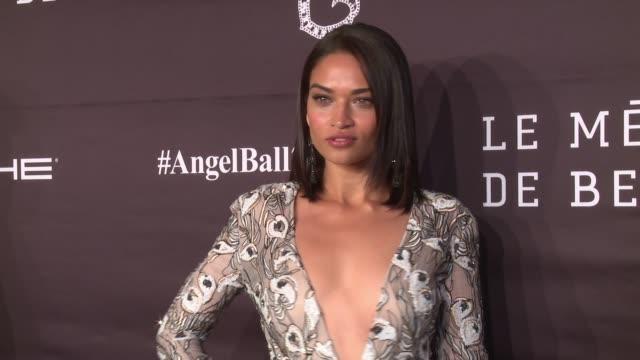 Shanina Shaik at 2016 Angel Ball at Cipriani Wall Street on November 21 2016 in New York City