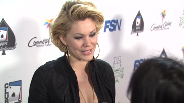 Shanna Moakler at the 7th Annual World Poker Tour Invitational at Los Angeles CA