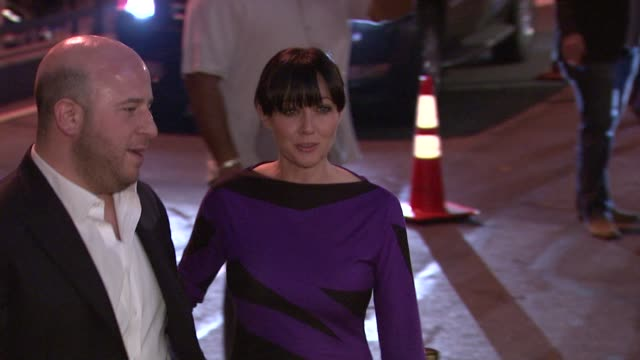 Shannen Doherty and Noah Tepperberg at the Grand Opening of Sapphire New York Gentlemen's Club and Prime 333 at New York NY