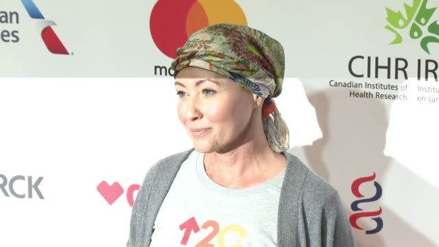 Shannen Doherty at Stand Up To Cancer 2016 at Walt Disney Concert Hall on September 09 2016 in Los Angeles California
