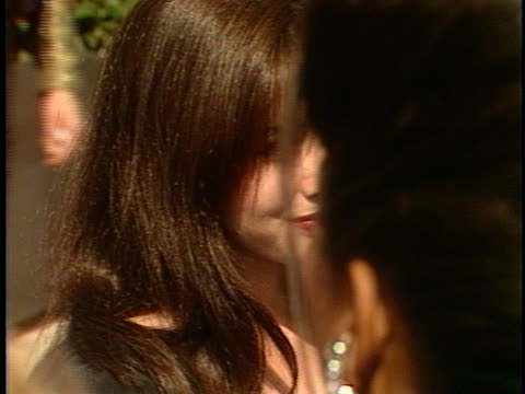 shannen doherty at the emmy awards 1991 at pasadena civic - awards ceremony stock videos & royalty-free footage