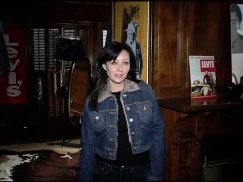 Shannen Doherty at the Levi Ranch at the Sundance Film Festival at Levi Ranch in Park City Utah on January 23 2005