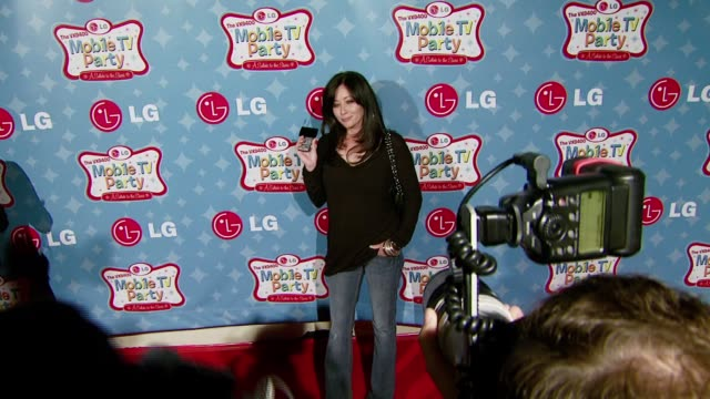 Shannen Doherty at the LG Mobile Phones Introduces the Future of TV at LG's Mobile TV Party at Paramount Studios in Hollywood California on June 19...
