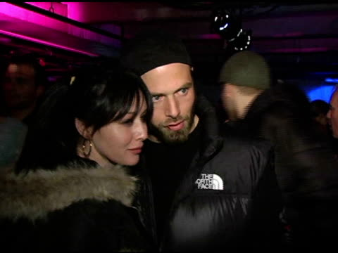 Shannen Doherty at the Motorola's 2nd Annual Late Night Lounge at Motorola Lodge in Park City Utah on January 23 2005