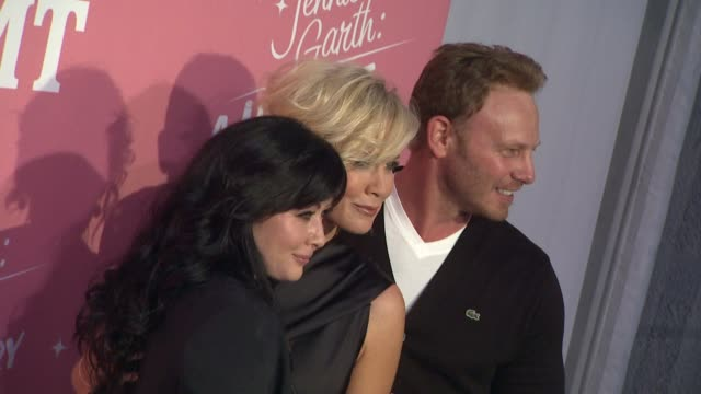 Shannen Doherty Jennie Garth Ian Ziering at CMT's Jennie Garth A Little Bit Country Launch And 40th Birthday Celebration on 4/19/12 in Los Angeles CA