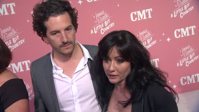 Shannen Doherty on celebrating Jennie's birthday show premiere if she could ever move to a farm why she wanted to venture into the reality world at...