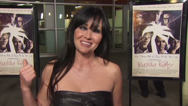 Shannen Doherty on what attracted her to this project at the 'Burning Palms' Premiere at Hollywood CA