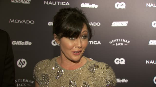 Shannen Doherty talks about what makes someone a gentleman at the GQ's The Gentlemen's Ball at New York NY