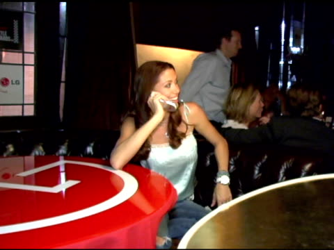 stockvideo's en b-roll-footage met shannon elizabeth at the lg at stuff style awards at the roosevelt hotel in hollywood california on september 7 2005 - shannon elizabeth