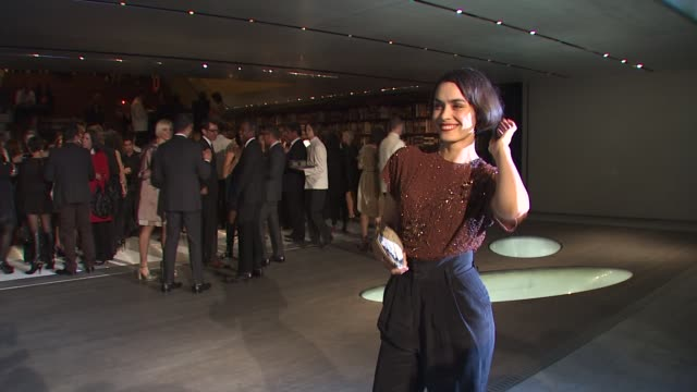 shannyn sossamon at the prada book launch at beverly hills ca. - shannyn sossamon stock videos & royalty-free footage