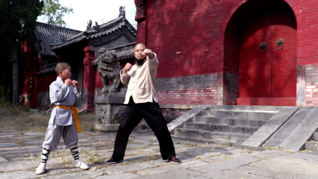 shaolin kung fu - trainee stock videos & royalty-free footage