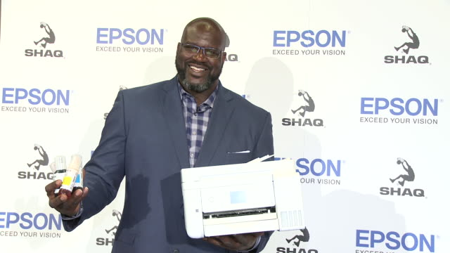 CA: Epson and Shaquille O'Neal Announce New Partnership