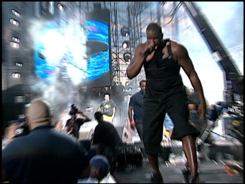 Shaquille O'Neal at the KROQ Weenie Roast at Verizon Amphitheater in Irvine California on June 23 2001