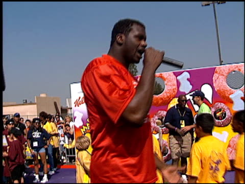 shaquille o'neal at the shaqtacular 3 on september 19, 1998. - shaquille o'neal stock videos & royalty-free footage