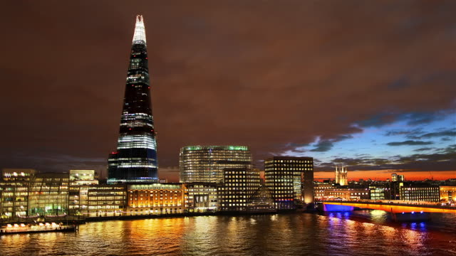 TL HA Shard and London Bridge night
