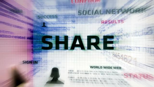Share Button (White)