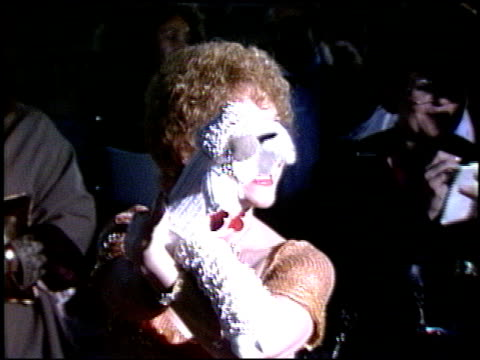 shari lewis at the 1986 emmy awards at the pasadena civic auditorium in pasadena california on september 21 1986 - pasadena civic auditorium stock videos & royalty-free footage