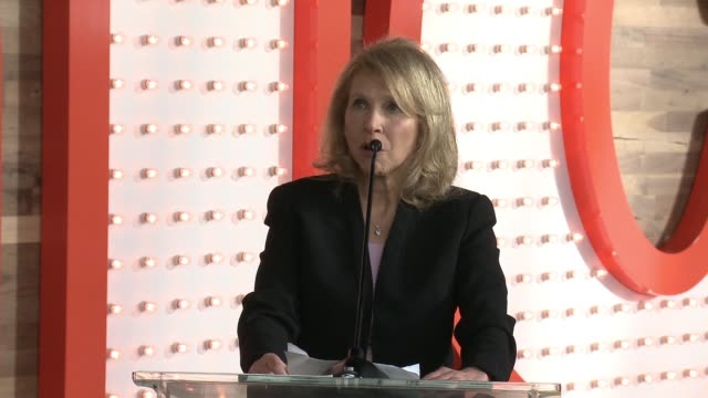 shari redstone at nickelodeon's state-of-the-art complex grand opening and ribbon cutting ceremony on january 11, 2017 in burbank, california. - nickelodeon stock videos & royalty-free footage