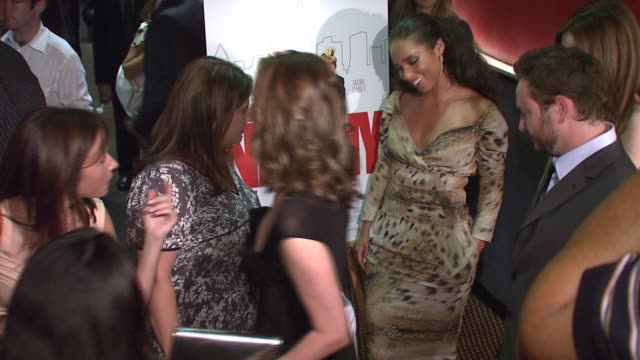 shari springer berman alicia keys donna murphy robert pulcini and nicholas reese art at the special screening of 'the nanny diaries' at cinemas 123... - alicia keys stock videos and b-roll footage