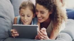 Sharing her daughter's internet interests