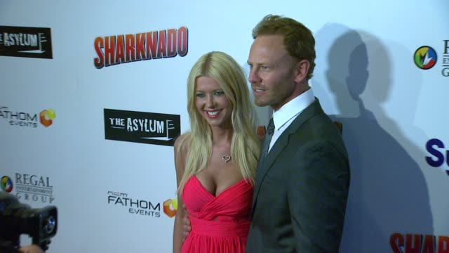 clean sharknado los angeles premiere los angeles ca united states 8/2/2013 - dennis haskins stock videos and b-roll footage