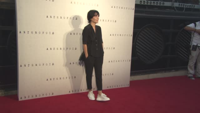 sharleen spiteri at 'anthropoid' film premiere at bfi southbank on august 30, 2016 in london, england. - bfi southbank stock videos & royalty-free footage