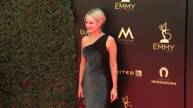 Sharon Case at the 2018 Daytime Emmy Awards at Pasadena Civic Auditorium on April 29 2018 in Pasadena California