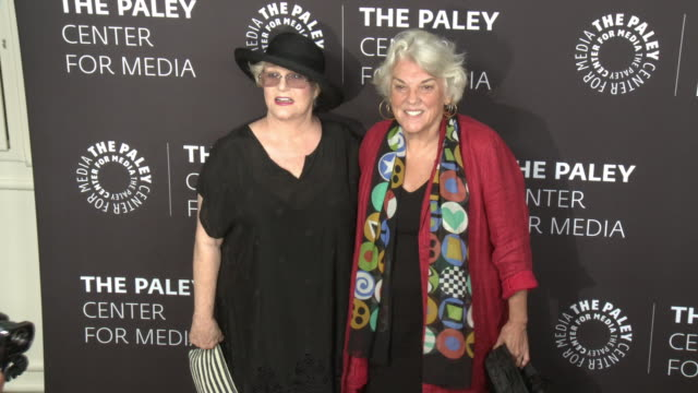 sharon gless and tyne daly at the paley honors in hollywood a gala celebrating women in television at the beverly wilshire four seasons hotel on... - tyne daly stock videos and b-roll footage