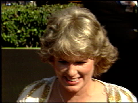 sharon gless at the 1986 emmy awards at the pasadena civic auditorium in pasadena california on september 21 1986 - pasadena civic auditorium stock videos & royalty-free footage