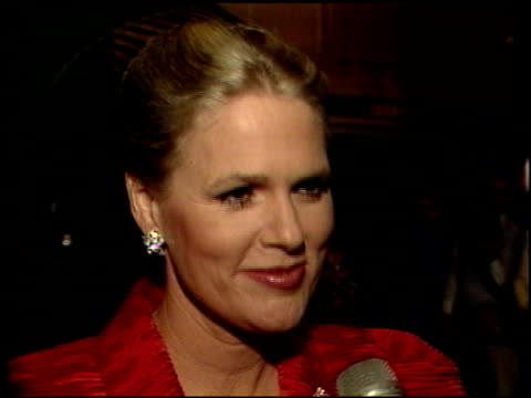 sharon gless at the 1989 golden globe awards at the beverly hilton in beverly hills, california on january 28, 1989. - sharon gless stock videos & royalty-free footage