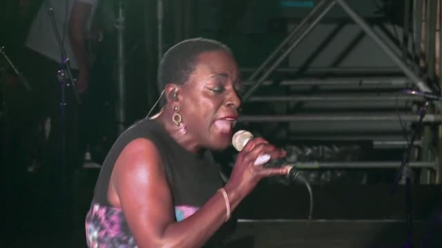 sharon jones a fiery grammynominated soul and funk singer sometimes called the female james brown has died after losing a battle to pancreatic cancer - pancreatic cancer stock videos and b-roll footage
