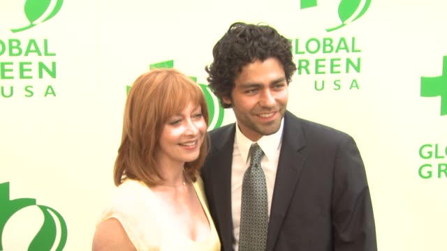 Sharon Lawrence Adrian Grenier at the Global Green USA 13th Annual Millennium Awards at Santa Monica CA