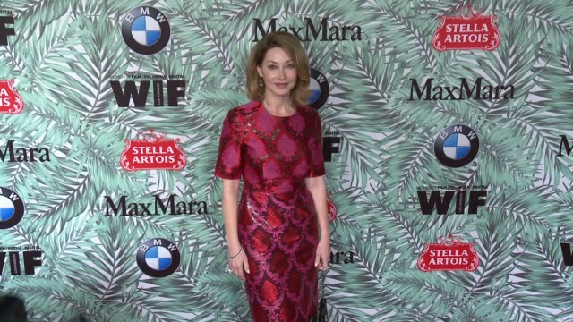 sharon lawrence at 10th annual women in film pre-oscar cocktail party presented by max mara and bmw at nightingale plaza on february 24, 2017 in los... - nightingale stock videos & royalty-free footage