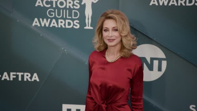 sharon lawrence at the 26th annual screen actors guild awards - arrivals at the shrine auditorium on january 19, 2020 in los angeles, california. - screen actors guild awards stock-videos und b-roll-filmmaterial