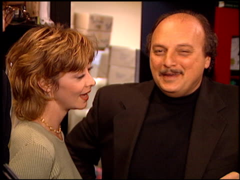 sharon lawrence at the nypd blue book signing at book soup in west hollywood california on november 6 1995 - book signing stock videos & royalty-free footage