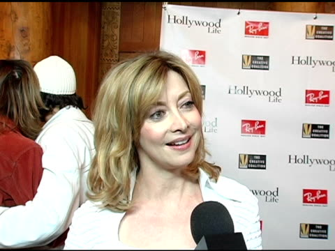 sharon lawrence on creative coalition at the kevin bacon reception of the 2005 rayban visionary award hosted by creative coalition and hollywood life... - beer stein stock videos and b-roll footage
