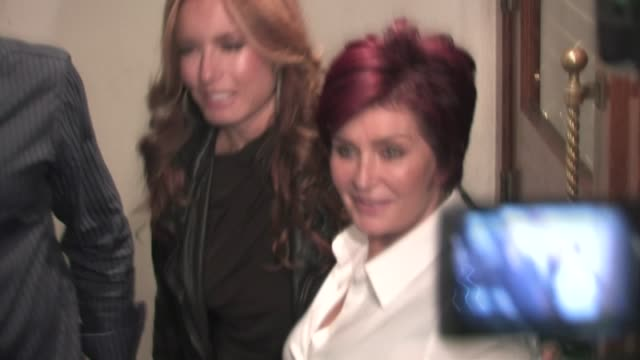 Sharon Osbourne at Madeo in West Hollywood