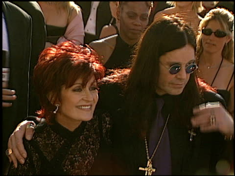 Sharon Osbourne at the 2002 Emmy Awards at the Shrine Auditorium in Los Angeles California on September 22 2002