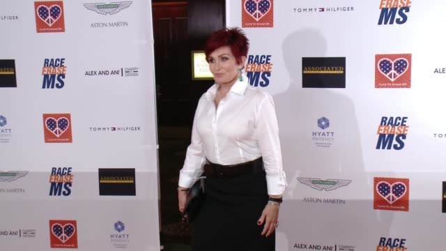 sharon osbourne at the 22nd annual race to erase ms in los angeles ca - race to erase ms stock videos and b-roll footage