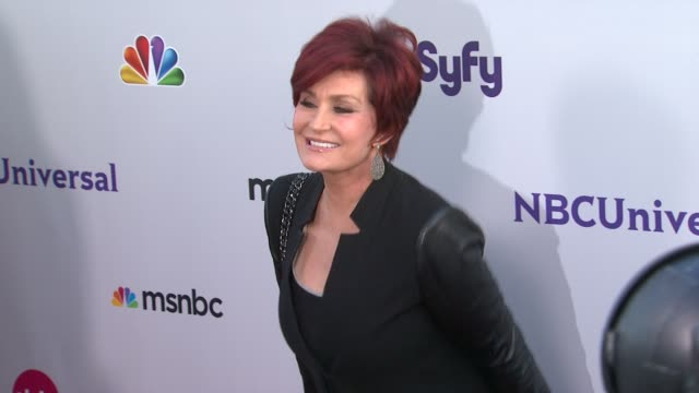 Sharon Osbourne at the NBC Universal Press Tour AllStar Party at Los Angeles CA