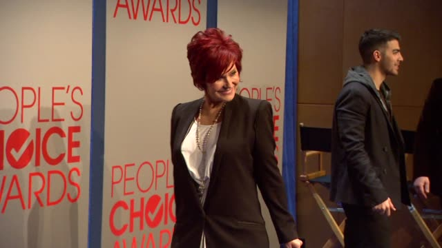Sharon Osbourne at the People's Choice Awards 2012 Nominations Press Conference