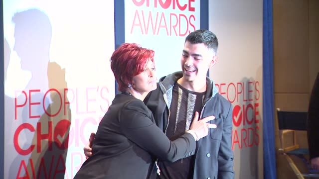 sharon osbourne at the people's choice awards 2012 nominations press conference - people's choice awards stock videos & royalty-free footage