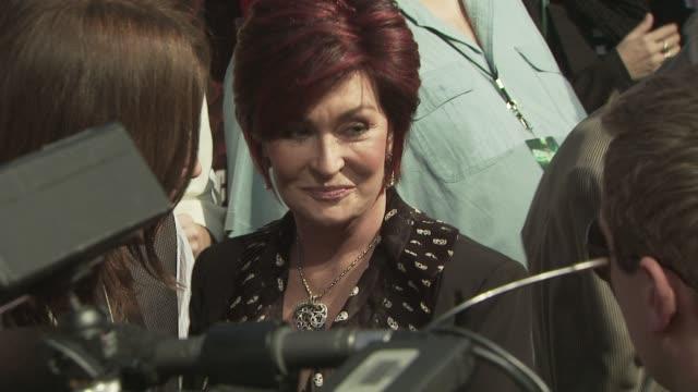 sharon osbourne at the spike tv's scream 2008 at los angeles ca - sharon osbourne stock videos & royalty-free footage