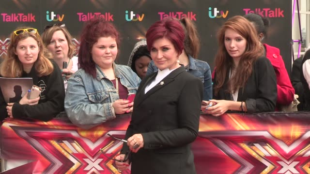 Sharon Osbourne at XFactor 2013 Photocall at ExCeL on June 18 2013 in London England