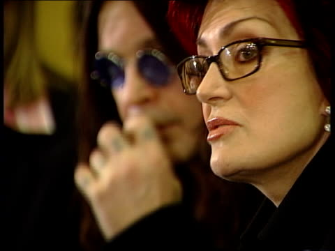 Sharon Osbourne is new face of ASDA DATE TGV ASDA store PAN Sharon Osbourne press conference following burglary at her home SOT Everything we've got...