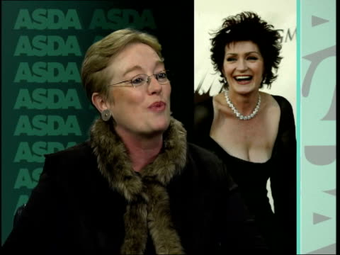 Sharon Osbourne is new face of ASDA Jill Marshall interview SOT Sharon Osbourne is not a good choice Clean Feed Tape = D0598679 OR D0598680 00210000...