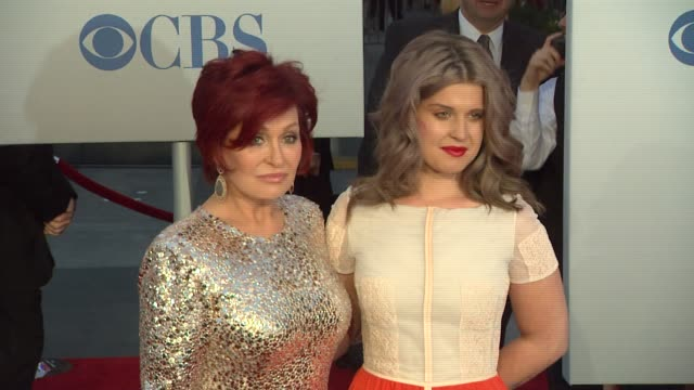 Sharon Osbourne Kelly Osbourne at 2012 People's Choice Awards Arrivals on 1/11/12 in Los Angeles CA