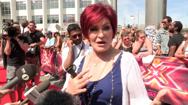 interview sharon osbourne on returning at wembley arena on july 15 2013 in london england - wembley arena stock videos and b-roll footage
